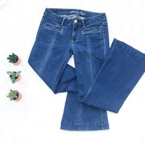 《American Eagle》 Hipster Stretch Flare Jeans